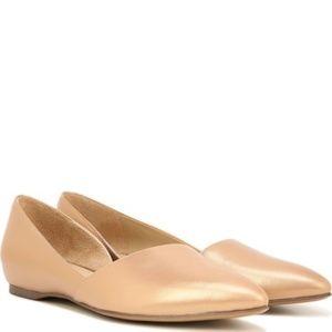 Naturalizer Samantha Leather Pointed Toe Flat